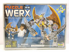 NIB Revell Puzzle Werx Eagle Strike Robot 3D Puzzle Toy with Pivoting Joints