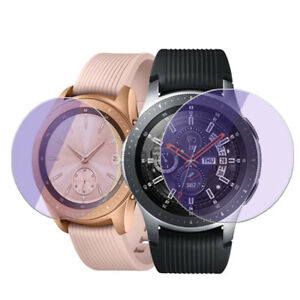 Anti-blue Tempered Glass Screen Protector For Samsung Galaxy Watch 42MM 46MM Lot