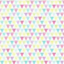 Jester BRILLO MULTICOLOR triángulos Papel Pintado Por Arthouse Imagine Niños