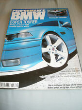 Performance BMW Aug 2002 318Ci E46, M3 convertible