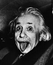 "Albert Einstein sticking his tongue out 8""x 10"" Photo 24"