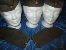 3  x  Militär - Mütze /  DDR , Nationale Volksarmee / Soldaten  NVA /  Größe 57