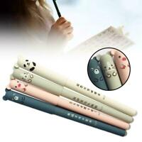Nice Cute Animal Panda Mouse Erasable Gel Ink Pen 0.35mm Pen Gel School R0C3