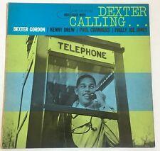 "Dexter Gordon Blue Note 4083 LP ""Dexter Calling"" ~ Mono ~ NY,USA ~ Ear ~ VG++"