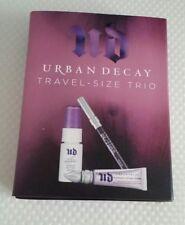 Urban Decay travel size trio eyeshadow primer All nighter spray Eye pencil liner