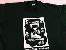 March of Dimes T-Shirt Mens Large 1998 Walk America Sheriff's Deputies Babies