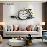 Wall Clock Modern Design Drawing Prints Quartz Acrylic living room Analog Clock