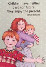 Mary Engelbreit Artwork-Children Have Neither Past-Handmade Magnets