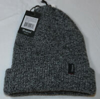 Brixton Heist Beanie knit hat skull cap lid NEW One Size black heather grey NWT