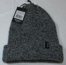 Brixton Heist Beanie knit hat skull cap lid NEW One Size black heather grey NWT