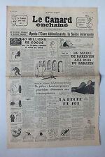 ANCIEN JOURNAL -  LE CANARD ENCHAINE N° 1704 DU 17 JUIN 1953 *