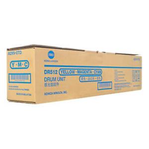 Genuine Konica Minolta DR512 Colour Drum (A2XN0TD) - Vat Included