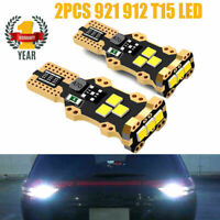 2 pcs Projector LED Reverse Light Bulbs T15 912 921 906 for Nissan Altima