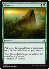 Restore NM Commander Anthology Green Uncommon MTG