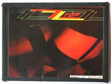 ZZ TOP Original Vintage 1980`s Sew On Photo Card Patch not shirt lp cd badge