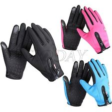 Touch Screen Windproof Waterproof Outdoor Skip Sport Men's Women Winter Gloves