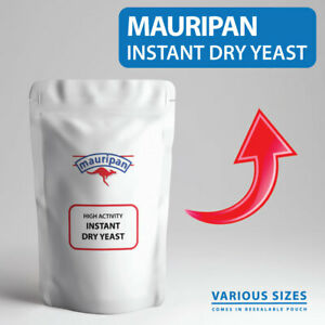 Mauripan Instant Dried Yeast High Activity Instant Dry BREAD YEAST For Baking