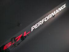 6.7L PERFORMANCE (pair) Hood vinyl sticker decals emblem Dodge Ram Fits Cummins