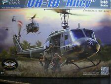 1/48 Bell UH-1D HUEY Model Kit by Kitty Hawk Models