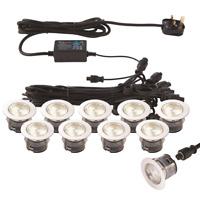 Deck Lights Kit Ikon PRO 25/35/45mm IP67- Colour Switch Warm White/Cool White