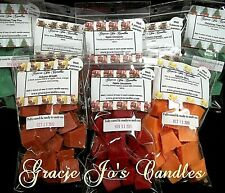 100 Bulk Candle Wax Melts Tarts Chunks Chips Cubes Double Scented Home Fragrance