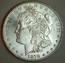 1878 S Morgan Silver Dollar United States Coin Uncirculated MS $1 BU #T