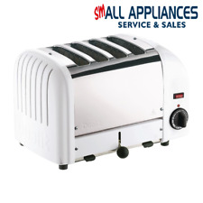 DUALIT BUN TOASTER 4 SLICE WHITE CLASSIC 43022 WITH 2 YEAR WTY  IN HEIDELBERG