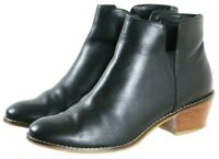 Cole Haan Women's Booties Boots Size 7 Leather Black
