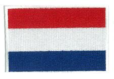 Patche écusson Pays Bas Hollande 85 x 55 mm brodé thermocollant