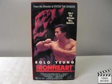 Ironheart VHS Bolo Yeung, Britton Lee, Richard Norton; Robert Clouse