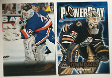 2 TOMMY SALO Cards 1995-96 RC PINNACLE #202 & PowerPlay Insert #15 2001-02