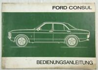 orig. Ford Consul Bedienungsanleitung Betriebsanleitung 09/1974
