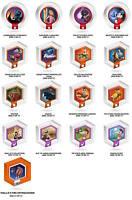Disney Infinity 1.0 Power Discs Wave 1 Series 3 - Choose Your Disc - Brand New