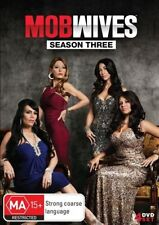 Mob Wives - Season 3 - 4 Disc Set - New Region 4 DVD - FREE POST.