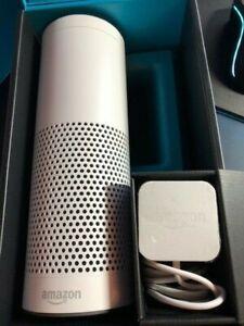 Amazon Echo (1st Gen) – White – excellent condition in original box