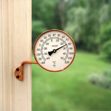 Conant Vermont Dial Thermometer Living Finish Copper for Indoor or Outdoor Use