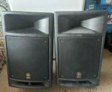 Yamaha STAGEPAS 300 Portable PA SPEAKERS ONLY with carlsbro amp and stands