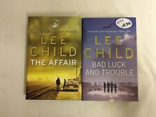 Lee Child Hardback Novels x2 - Bad Luck And Trouble & The Affair - FREE P&P