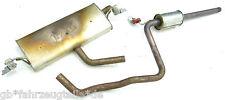 VW Golf 7 5G 1.2TSI CJZ Abgasanlage Endschalldämpfer 5Q6253611 5Q0253211 18318