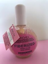 LOT 4 Pro FX Nail Treatment #060 FIBERIZED RIDGE FILLER 2.5oz Salon Formula NEW