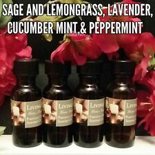 Spa & Fresh Fragrance Burning Oils  Asst Set of 4 1/2oz