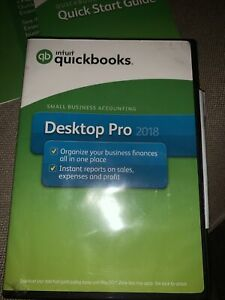 Intuit QuickBooks Desktop Pro 2018 Small Business Accounting Software
