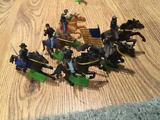 Vintage Britains deetail acw Union cavalry.
