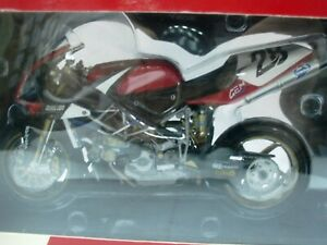 WOW EXTREMELY RARE Ducati 998RS #28 Foti Silverstone WSB 2003 1:12 Minichamps