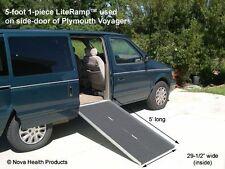 handicap ramps for minivans. 5\u0027 wheelchair ramp | scooter literamp portable handicap ramps for minivans