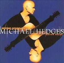 Michael Hedges CD Beyond Boundarie Solo Acoustic New Age Guitar MINT Rare