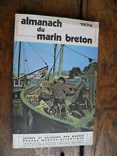 almanach du marin breton 1974