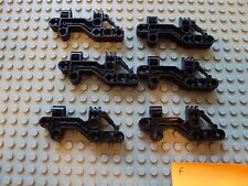 Lego Bionicle/Technic ~ Lot of 6 Black Torso Body Parts #zx5tg7u