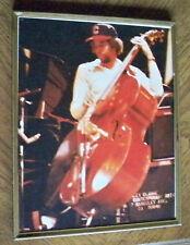 Stanley Clarke Framed 8x10 Photo 1981 RTF Reunion Tour