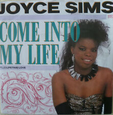 "7"" 1988 PARTY culto! Joyce Sims come into my life/MINT - \"